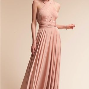 Two birds bridesmaid dress